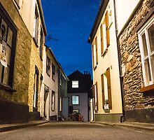 cawsand by night by Anne Scantlebury