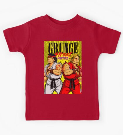 Grunge Street Fighters Kids Clothes