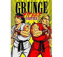 Grunge Street Fighters Photographic Print