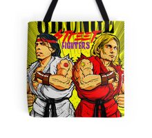 Grunge Street Fighters Tote Bag