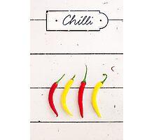 Chili Photographic Print
