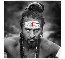 Serious Yogi Poster