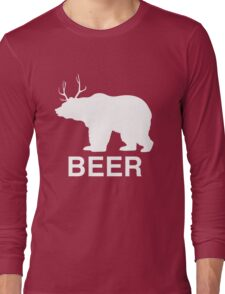 Beer Bear Long Sleeve T-Shirt