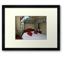 A Bed for the Night Framed Print