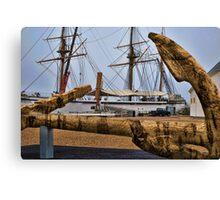 Cork Anchor Canvas Print