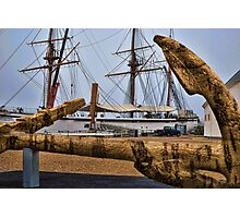 Cork Anchor Photographic Print