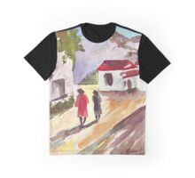 Cape Winelands Homestead Graphic T-Shirt