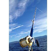 Gone Fishing! Kauai,hi,kokee mtn range. Photographic Print