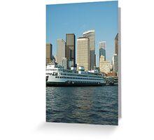 Ferry Greeting Card