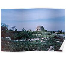Trullo Stone Houses nr Lecce 19840401 0004m Poster