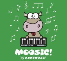 Moosic - Fun Cow playing piano by Kokonuzz
