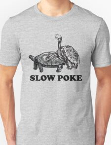 Turtles. Slow Poke Unisex T-Shirt