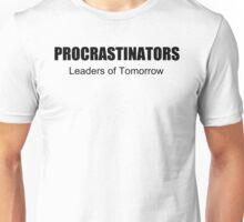 PROCRASTINATORS funny college beer nerd Unisex T-Shirt
