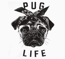 Pug Life  humor Funny Geek Geeks by porsandi
