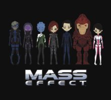 Mass Effect Cartoon - Jane Shepard T-Shirt