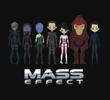 Mass Effect Cartoon - JohnShepard by Shadyfolk