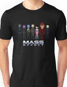 Mass Effect Cartoon - JohnShepard Unisex T-Shirt