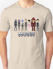Mass Effect Cartoon - JohnShepard Unisex T-Shirt