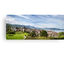 City of Zug (Central Switzerland) Canvas Print