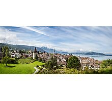 City of Zug (Central Switzerland) Photographic Print