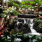 Island Waterfall by CrazyAmazing