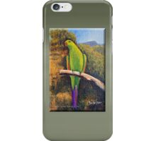 FEMALE KING PAROT iPhone Case/Skin