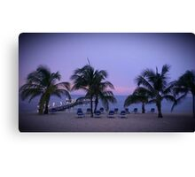 Quiet Caribbean Canvas Print