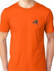 New York Over Heart Unisex T-Shirt