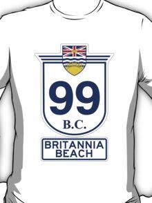 BC 99 - Britannia Beach T-Shirt