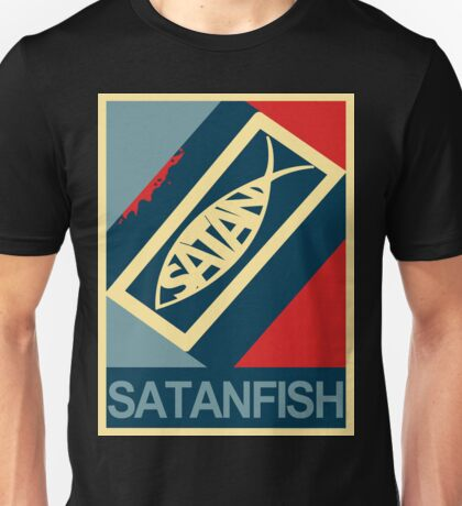 SATANFISH 1.0  Unisex T-Shirt