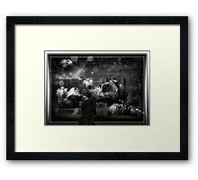 ©DA Turtles IA Monochromatic Framed Print