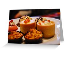 Tiny Desserts Greeting Card