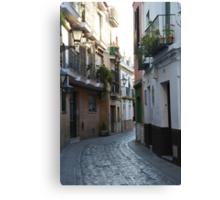 [A Street] of Triana Canvas Print