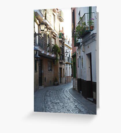 [A Street] of Triana Greeting Card