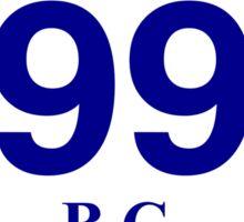 BC 99 - Cache Creek Sticker