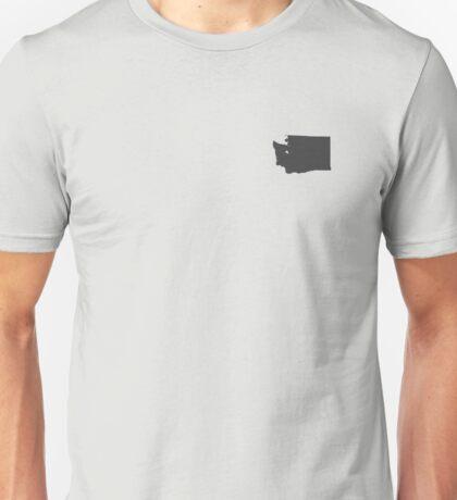 Washington Over Heart Unisex T-Shirt