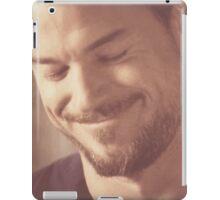 Mark Sloan smiling iPad Case/Skin