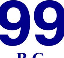BC 99 - Lions Bay Sticker
