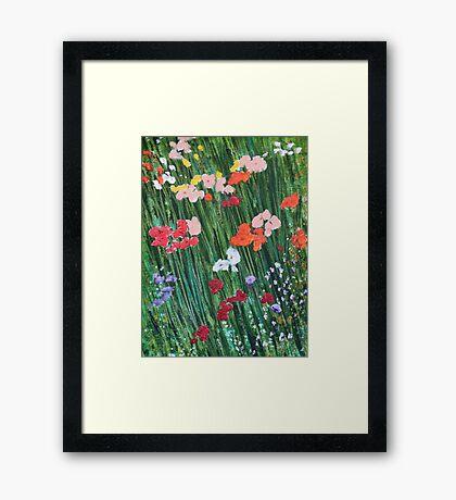 The Spring Garden Framed Print