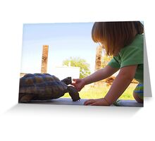Turtle Friend Greeting Card