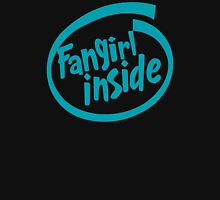 Fangirl Inside Womens Fitted T-Shirt