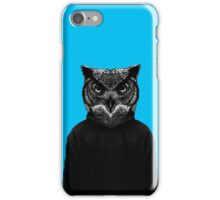 Owl Face iPhone Cover iPhone Case/Skin