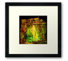 Syrian children's feature is up in the air Framed Print