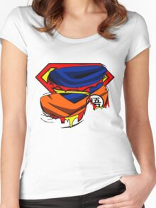 Super Who? Goku  Women's Fitted Scoop T-Shirt