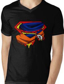 Super Who? Goku  Mens V-Neck T-Shirt