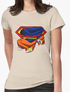 Super Who? Goku  Womens Fitted T-Shirt