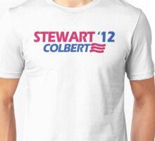STEWART COLBERT 12 jon stephen president funny 2012 Unisex T-Shirt