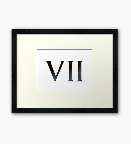 EPISODE VII Framed Print