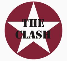 The Clash Red Star Mens White NEW by porsandi