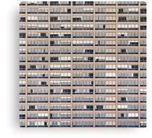 High-rise Building Facade Canvas Print